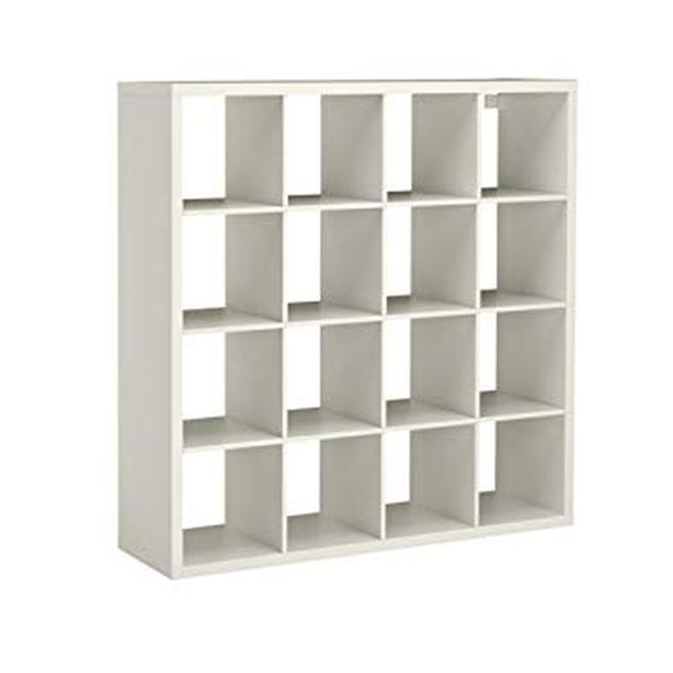 White Ikea Expedit Shelf 4x4 Cubes Central Saanich Victoria