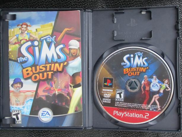 PS2 game the Sims