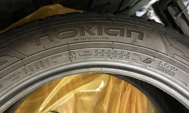 Nokian Wrg3 25550r19 Ms Snowflake Symbol Premium Tires Set Of