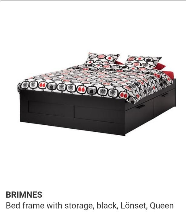 Wanted Ikea Brimnes Bed Frame With Storage Saanich Victoria