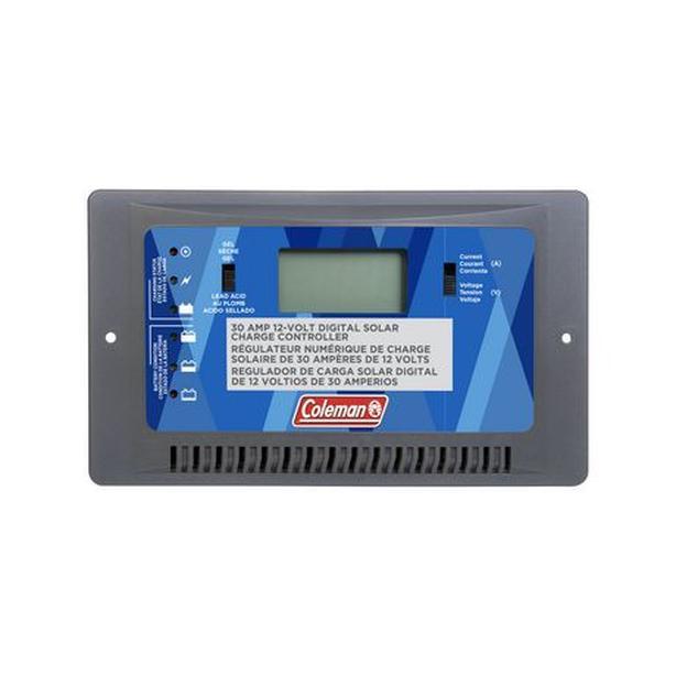 Sunforce/Coleman 12V 30A Digital Solar Charge Controller