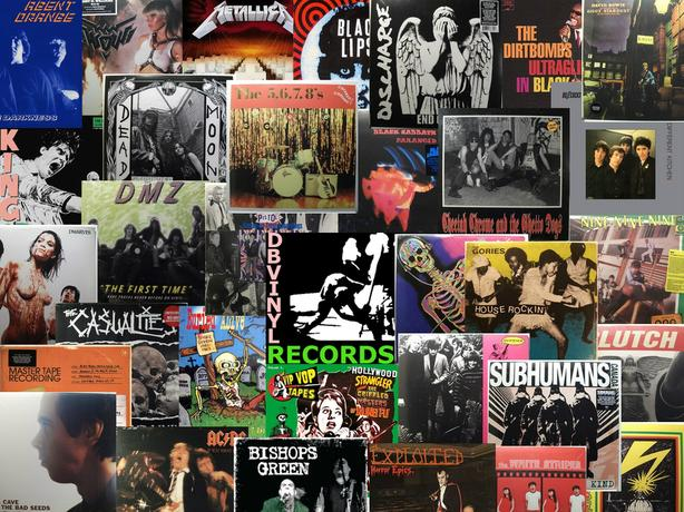 New and Used Vinyl Records 50% OFF