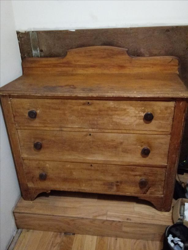 Antique Dresser (Solid Wood)