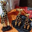 Giraffe Wood Carvings