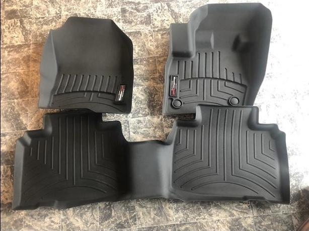 WEATHERTECH MATS, FORD EDGE 2015 AND NEWER