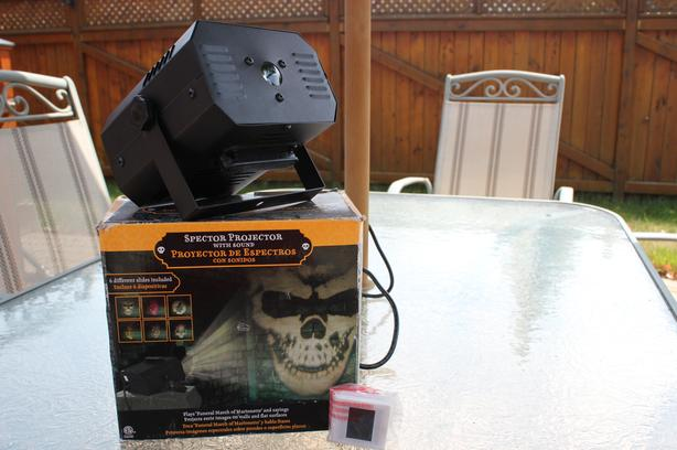 Halloween Projector with Sound Effects