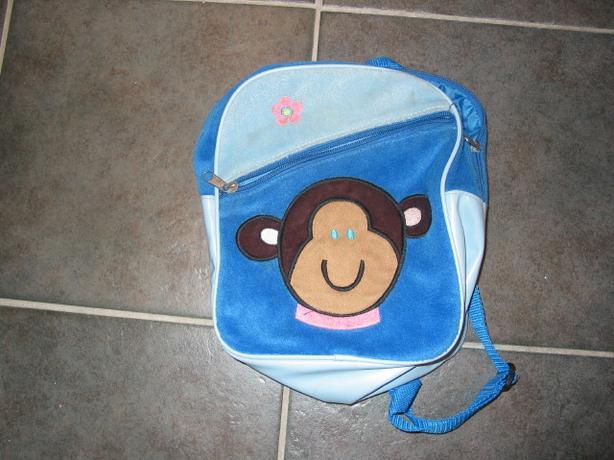 Cute monkey face back pack