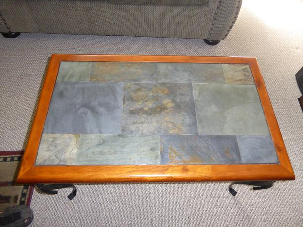 Brilliant Log In Needed 35 Coffee Table With Slate Top Beatyapartments Chair Design Images Beatyapartmentscom