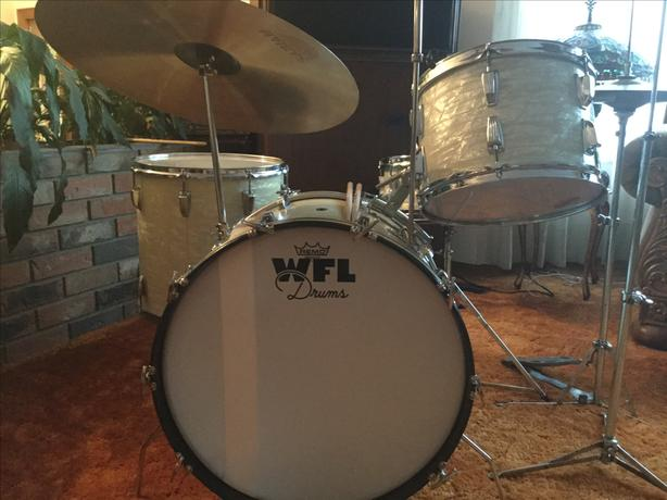 1950's WFL ( Ludwig ) super classic drums