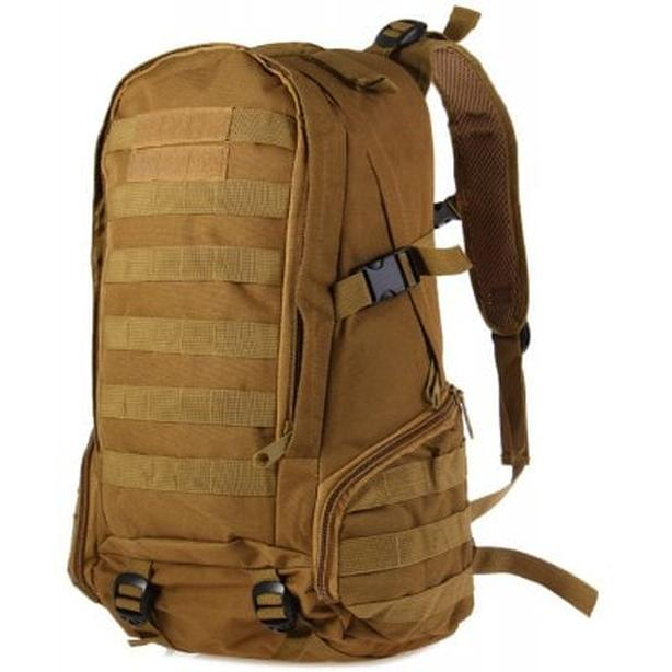 Tactical Military Molle Utility Rucksack Backpack Bag 35L - Tan