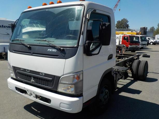 """2010 Mitsubishi Fuso FE85D Diesel 176"""" Cab & Chassis"""