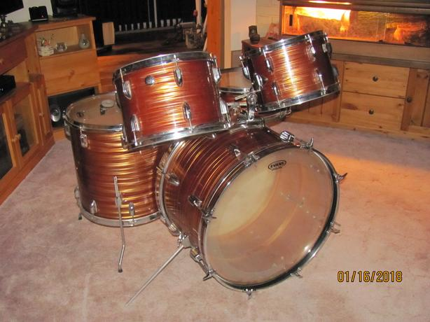 Root Beer Drum set