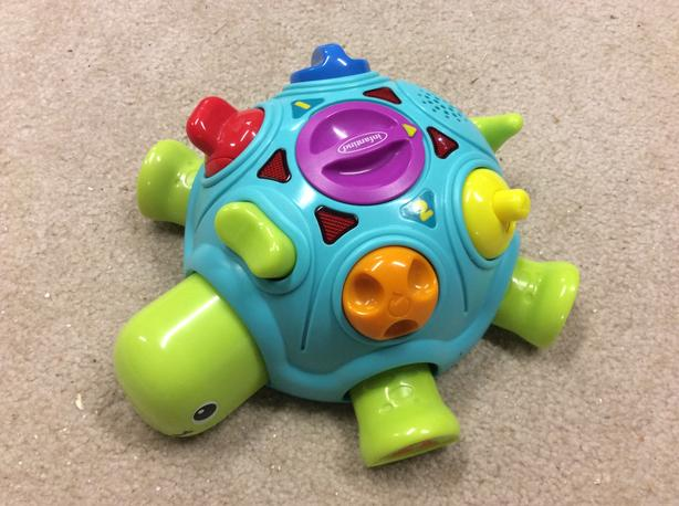 Turtle learning toy