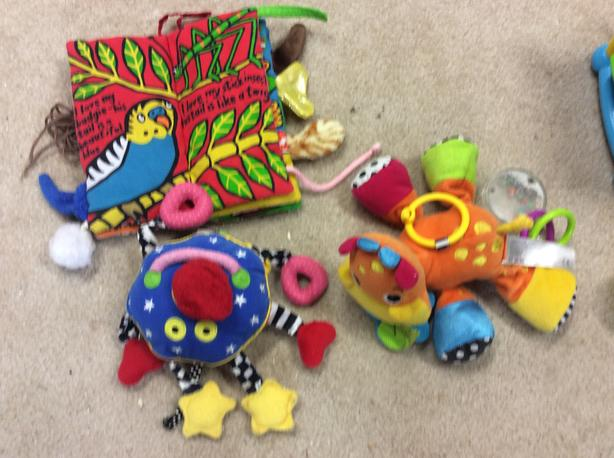 Assorted baby's learning toys