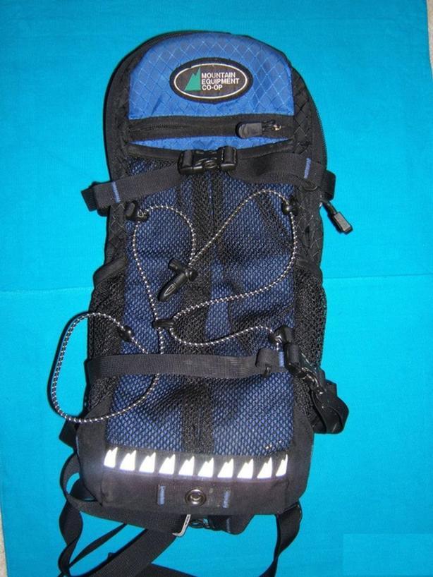 MEC hydration pack with 2L platypus water reservoir bladder