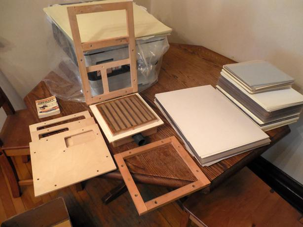 Bulk Quantity of Modelers Styrene Plastic and small Vac-form box