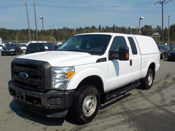 2012 Ford F-250 SD XLT SuperCab Short Box 4WD Canopy