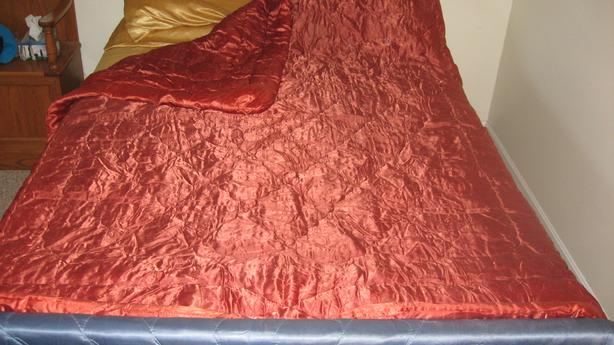 Modern Reversible Satin Comforter
