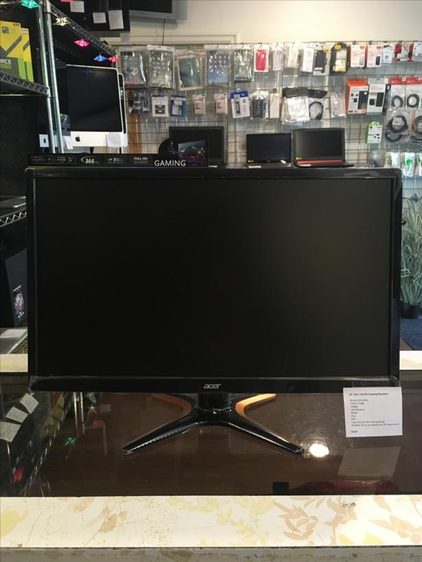 "24"" Acer HD 144 Hz Gaming Computer Monitor w/ Warranty!"