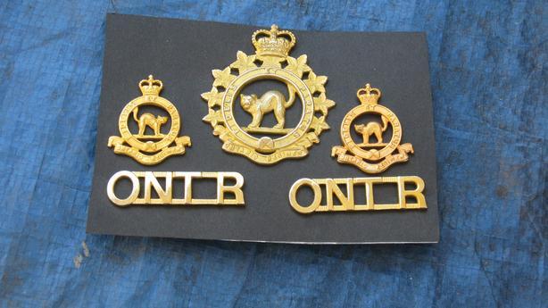 Military Cap Badge Set