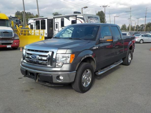 2013 Ford F-150 XLT SuperCrew Standard 6.5ft Box 4WD with Tonneau Cover