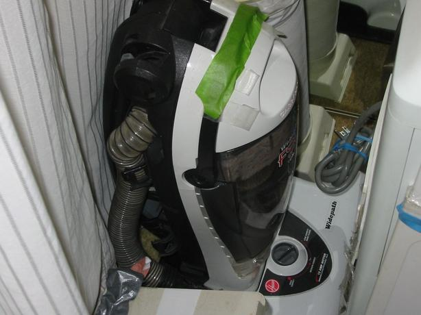 HOOVER WIDEPATH VAC, HEPA FILTER, and DANBY AIR COND, ALL SEASON,