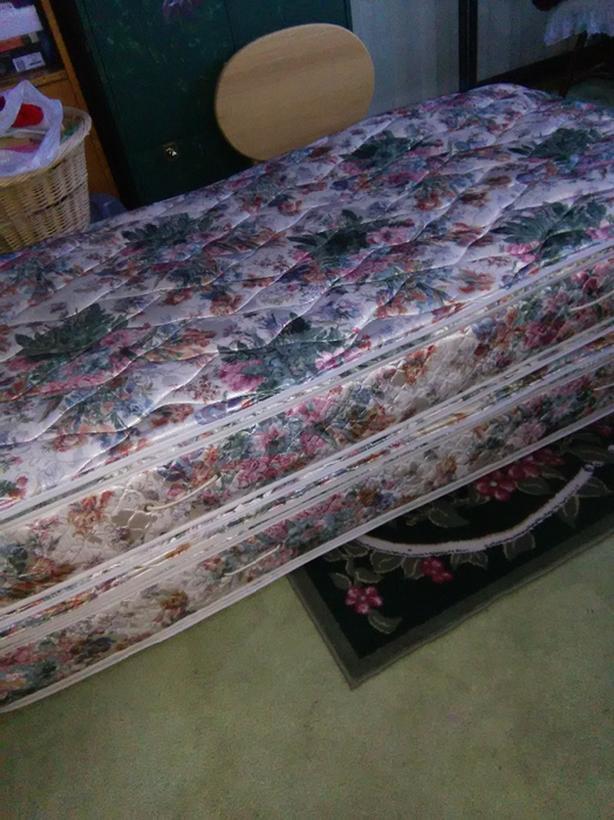 2 twin mattress obo