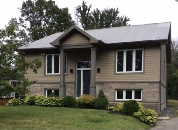 Beautiful redesigned and completely renovated house !