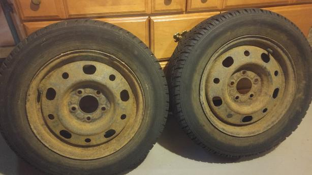 Toyo winter tires great shape