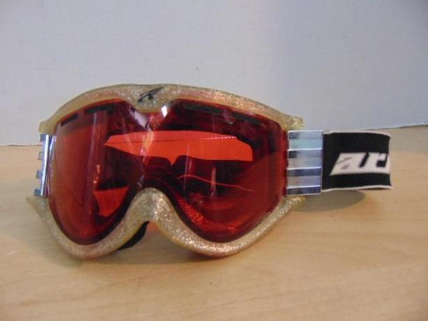 Ski Goggles Adult Arnette Gold Metal Black Minor Wear