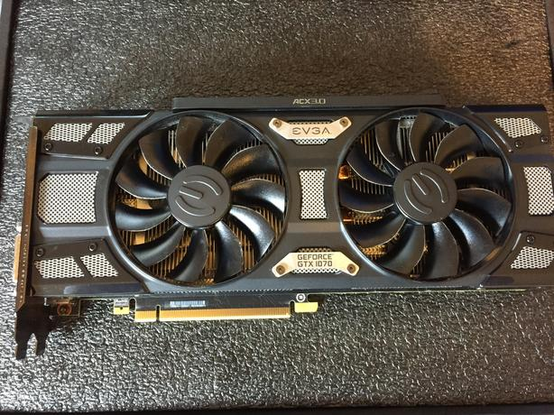 EVGA GeForce GTX 1070 SC GAMING 8GB GDDR5 West Shore