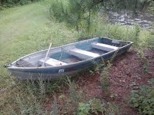 12' Aluminum Boat and Motor