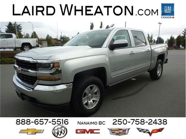 2018 Chevrolet Silverado 1500 LT 4x4, Back-up Camera, Trailering Package