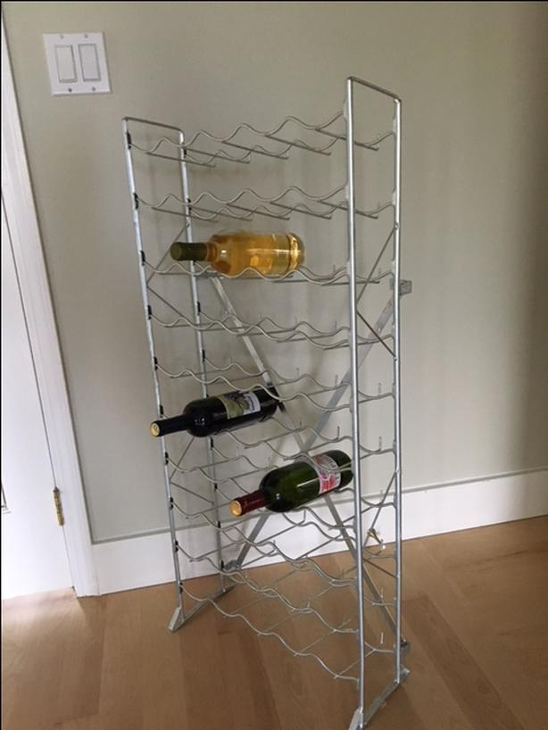 New Never Used Wine Rack Assembled For Picture Saanich Victoria