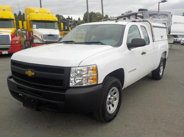 2013 Chevrolet Silverado 1500 Work Truck Ext. Cab 2WD Canopy
