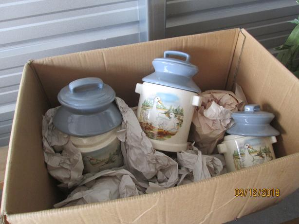 Kitchen Geese Canisters