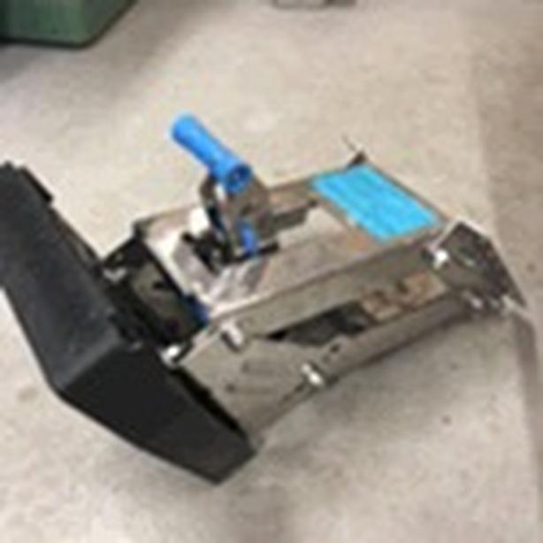 Tiller motor mount bracket up to 20hp