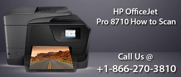 HP OfficeJet Pro 8710 How to Scan