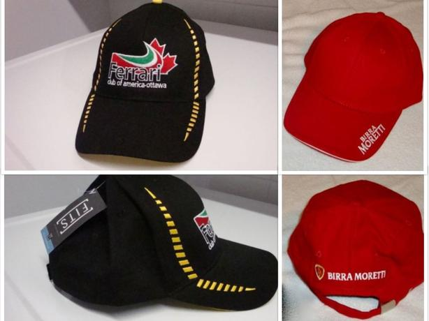 BALL CAPS - Senators, Ferrari, Team Canada & Moretti