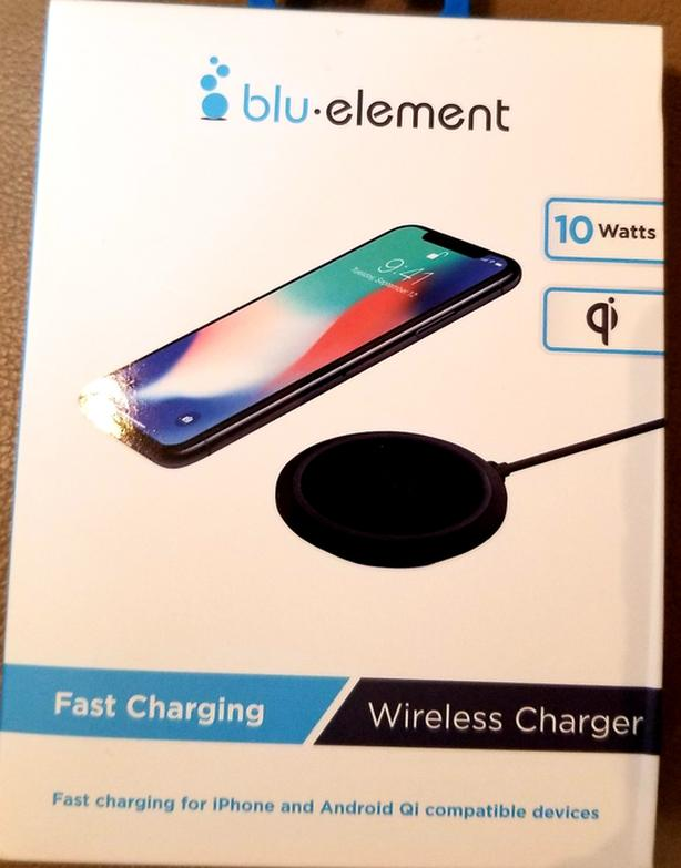 Blue Element wireless charger
