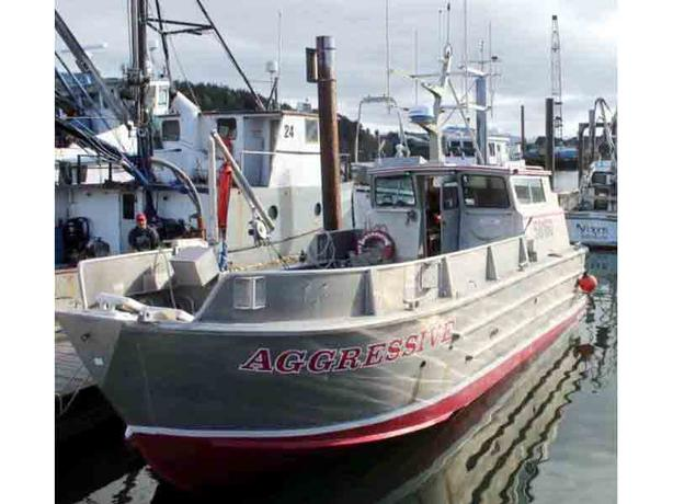 Commercial Salmon Fishing Boat for Sale- 32' Aluminum Hull- Aggressive