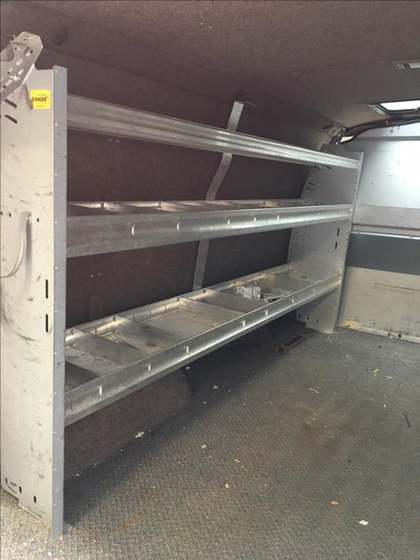  Log In needed $975 · Ranger Design Cargo Van Shelving and Partition
