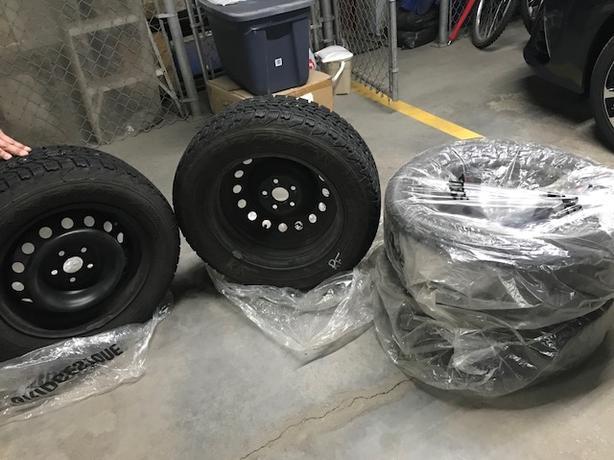 Winter Tires - Toyota Corolla