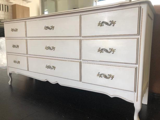French Provincial Dresser And Mirror West Shore Langford Colwood