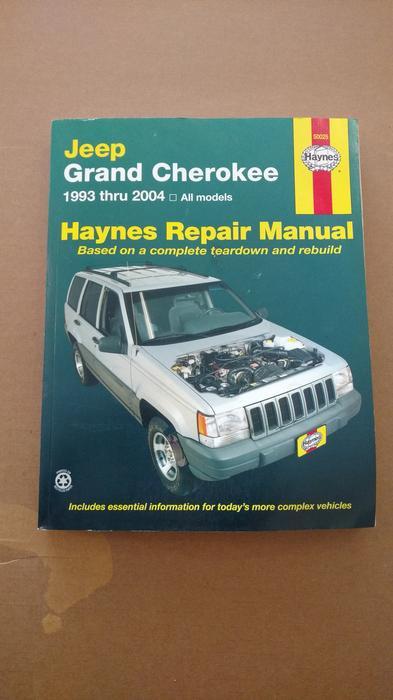 Jeep Grand Cherokee 1993-2004 Haynes USA workshop manual