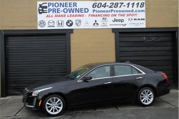 2017 Cadillac CTS Sedan  INFOTAINMENT, LEATHER, PANOROOF, 22316K