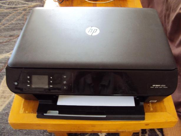 HP Envy 4500 printer with new ink Sooke, Victoria