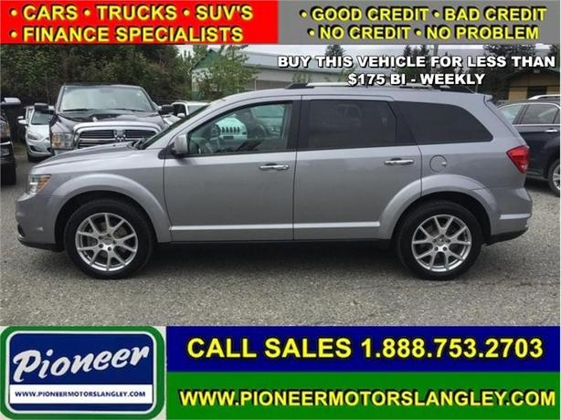 2015 Dodge Journey R/T  AWD NAV DVD - Leather Seats - Bluetooth