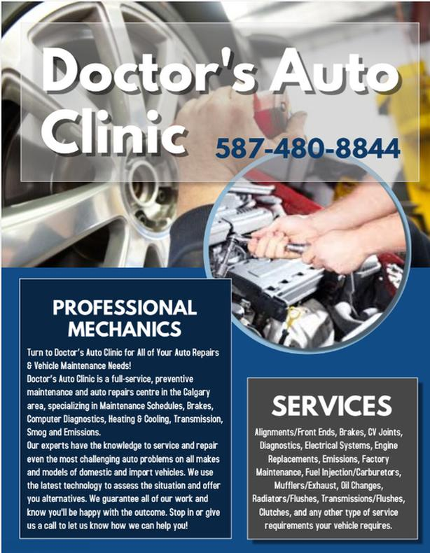 Auto Repairs and Inspections