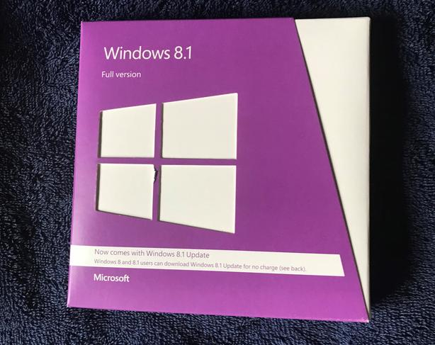 Windows 8.1 - Full Ver. disks (32 & 64 bit)